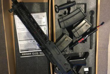 SIG 551 bloblack swiss arms
