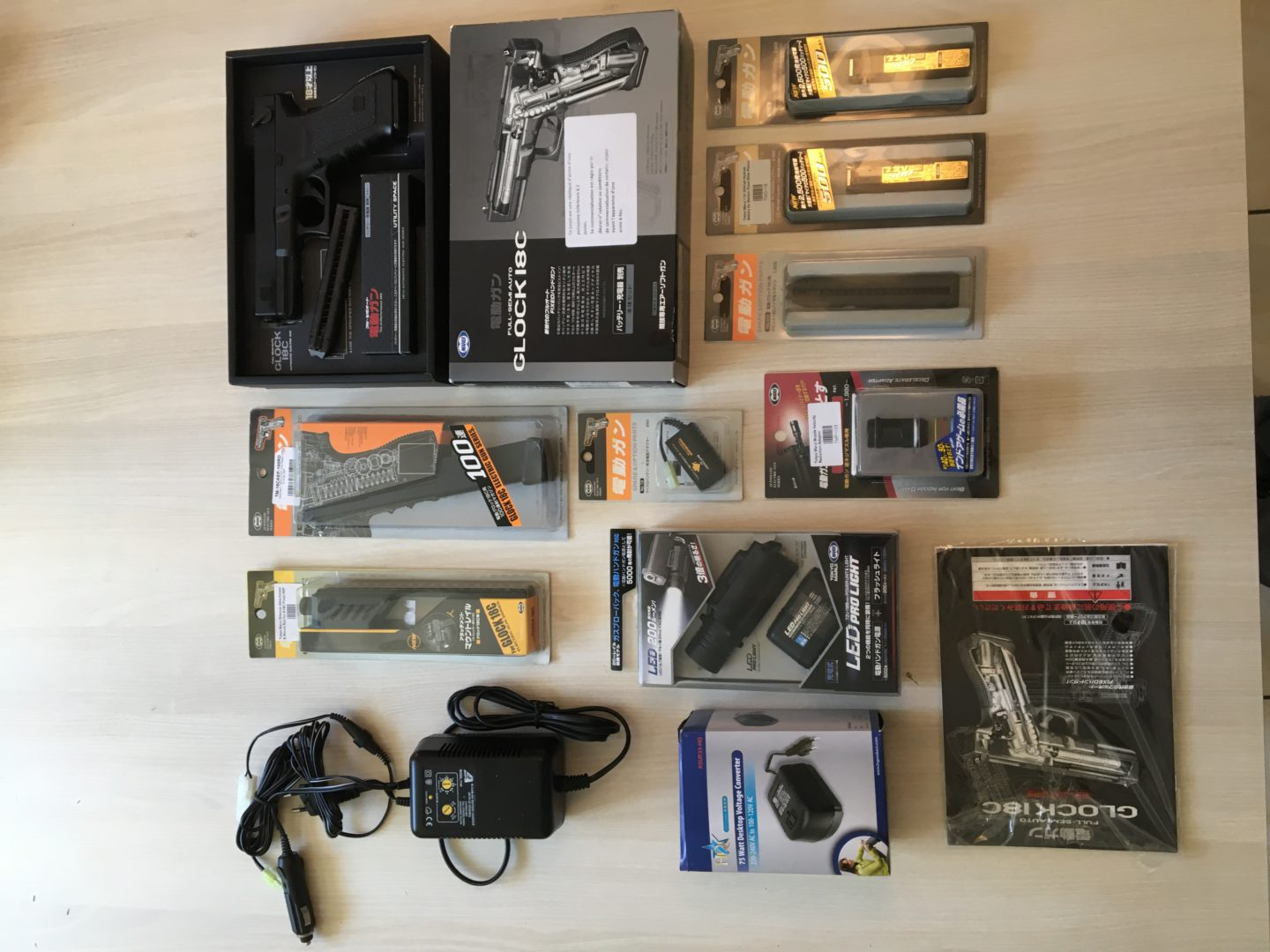 Glock 18C AEP Tokyo Marui + accessoires : - Occasion-airsoft