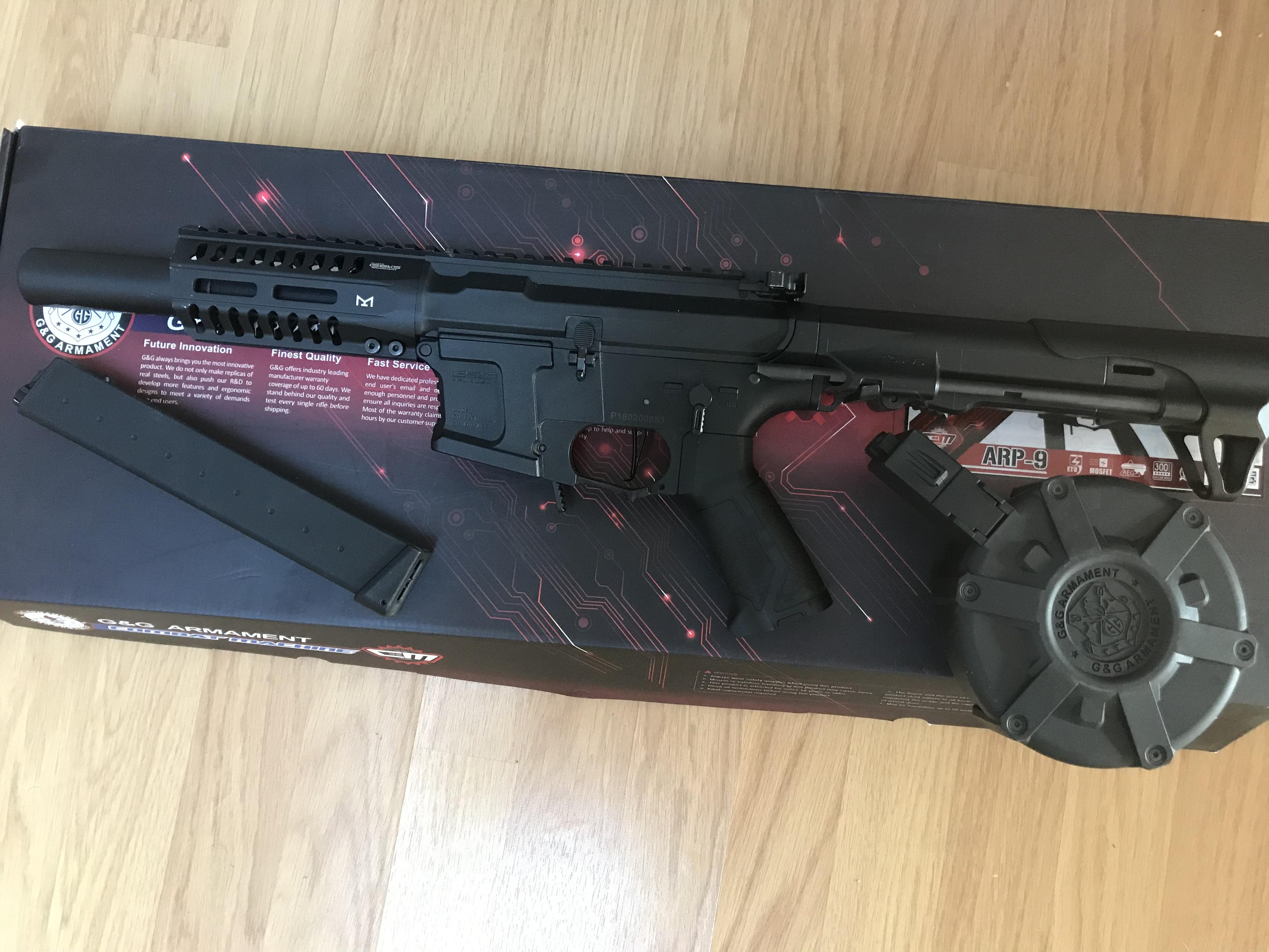 Arp9 g&g upgrade