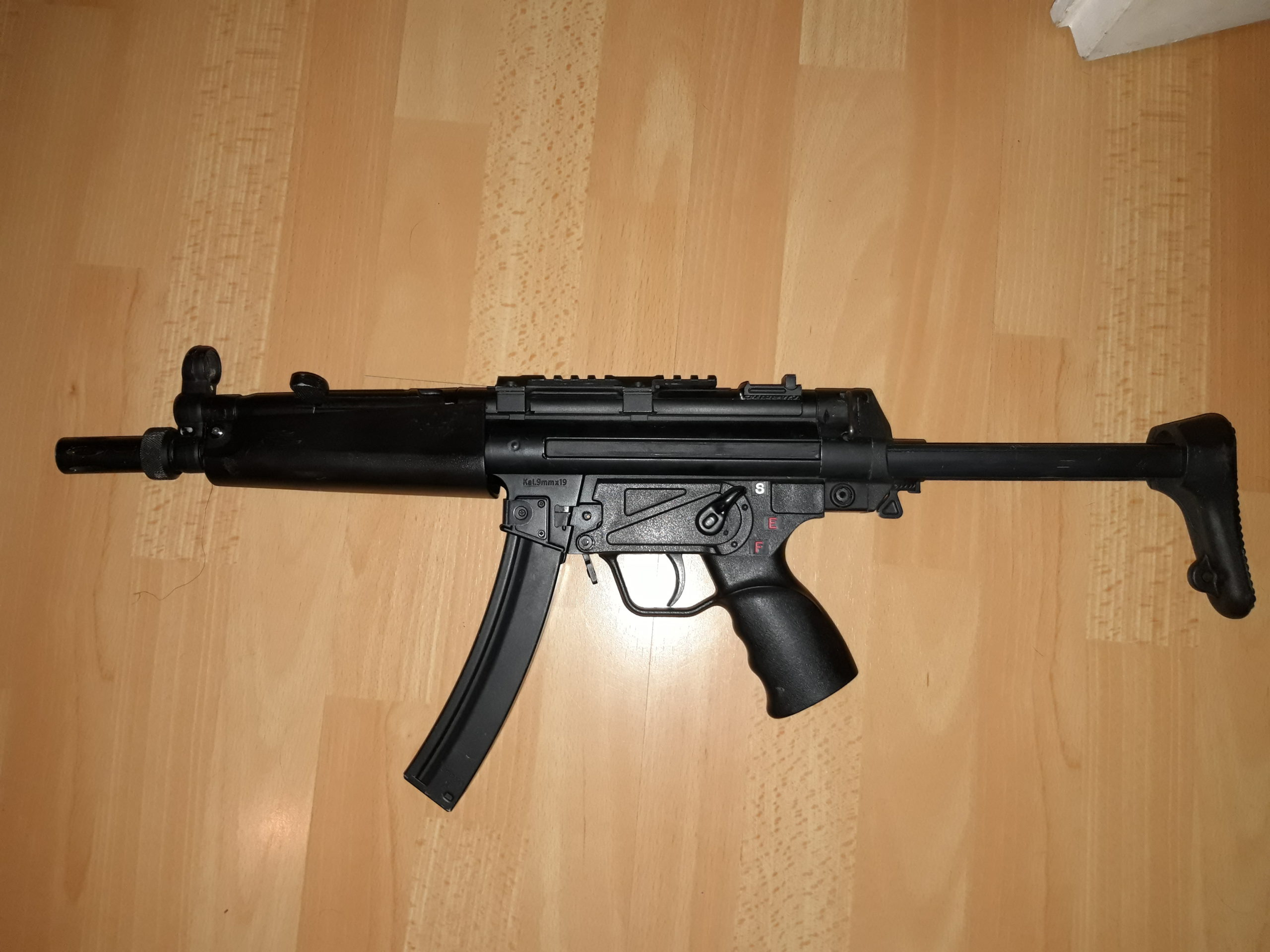 Mp5 full métal classic army
