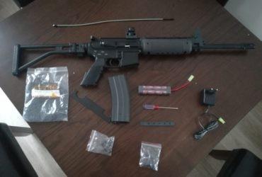AIRSOFT RIFLE M4 LR300 LONG FULL METAL – A&K