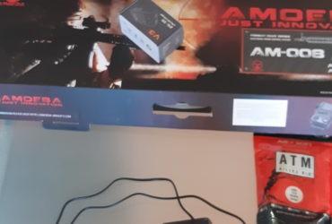 Réplique ARES AM-008-DE – Batterie – Chargeur de batterie – Sac de billes