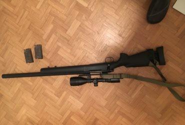 Sniper ssg24 novritsch réplique vendu l'annonce ne se retire pas