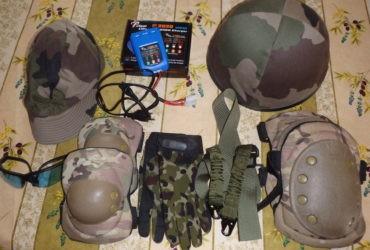 Accessoires et équipement de protection Airsoft, paintball