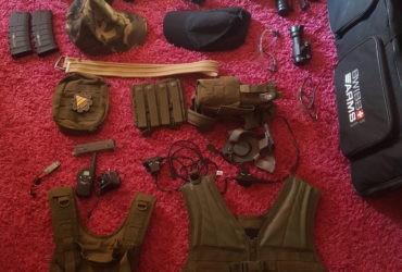 Lot d'accessoires d'airsoft/paintball [Revente]