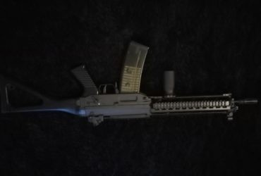Sig 551 full metal blowback (electrique)