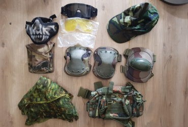Lot de protections airsoft