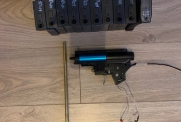 Kit gearbox V2  moteur + batterie + 10 chargeurs