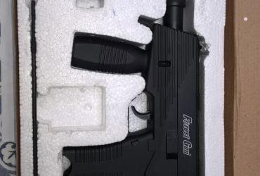 Pistolet métal à bille type Uzy