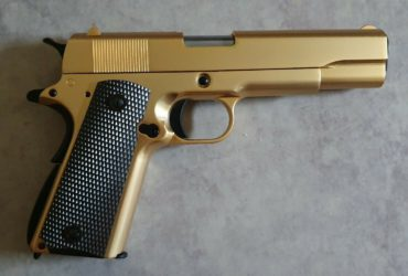 45 1911 Gold WE Gaz