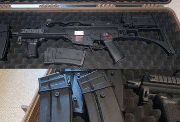 G&G Armament g36 + malette waterproof Nuprol
