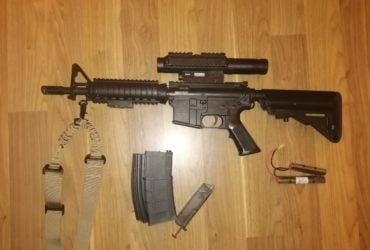 Colt M4A1 CQBR avec Viseur et plus.