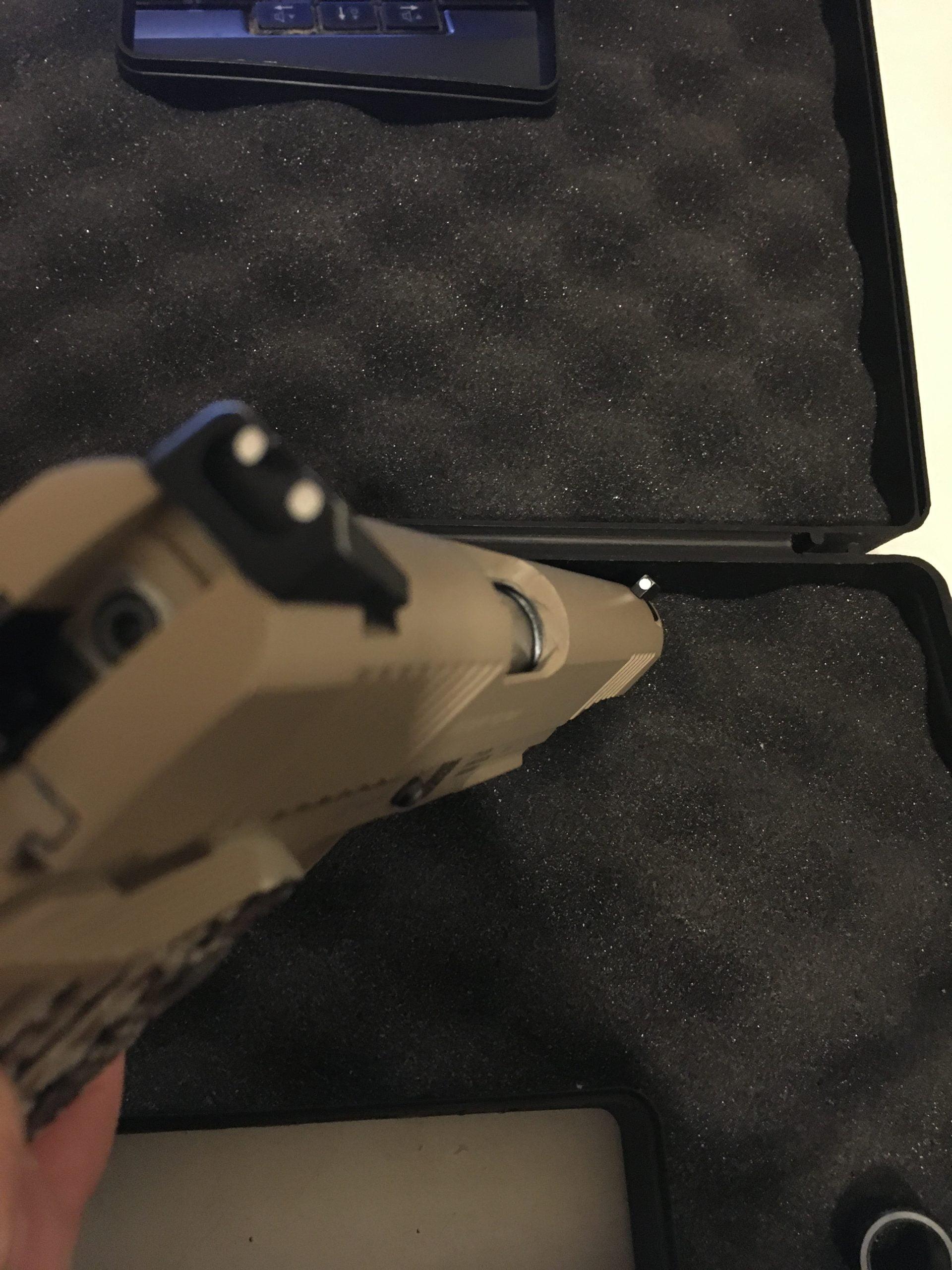Colt 1911 KWC Co2 Tan