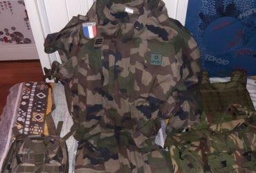Treillis de l'armée française