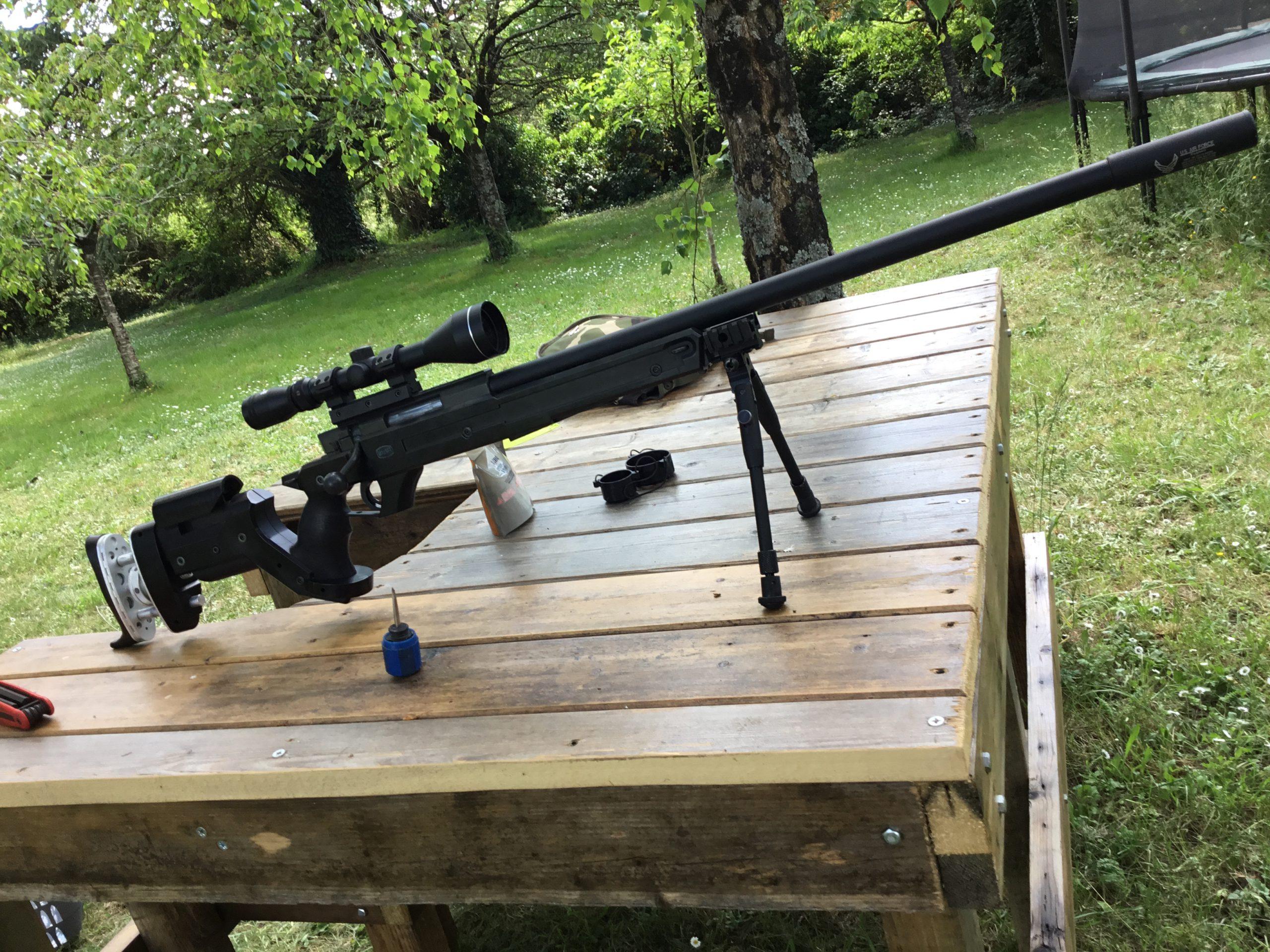 Mauser tactical upgradé