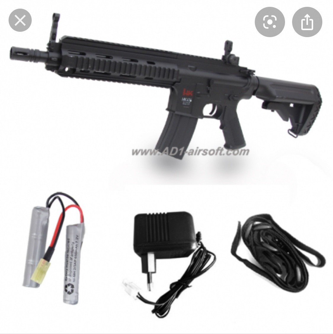 Vend replique airsoft HK416