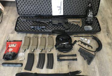 Lot M4 tippman et accessoires