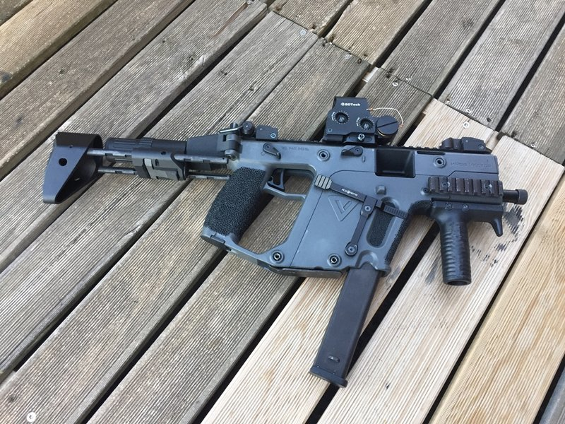 Kriss Vector KWA un beau custom