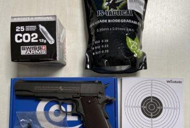 Réplique Colt M1911 CO2 Cybergun
