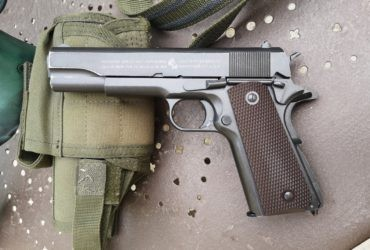 COLT 1911 KWC 100TH anniversary blowback CO2