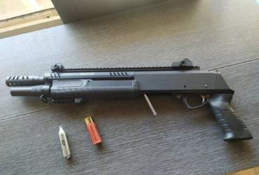Fusil à pompe fabarm quasi neuf; servi une fois pour les tests