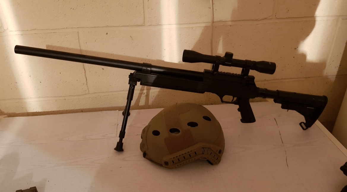 Sniper Urban Sniper bipied spring