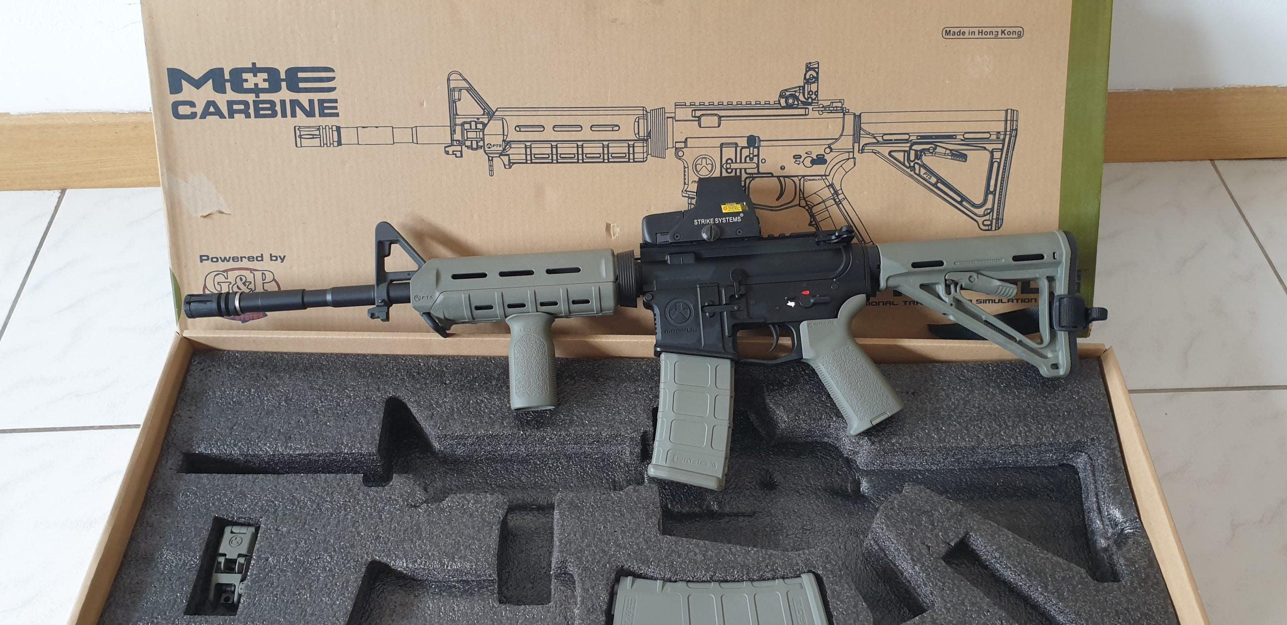 M4 Magpull PTS G&P état neuf