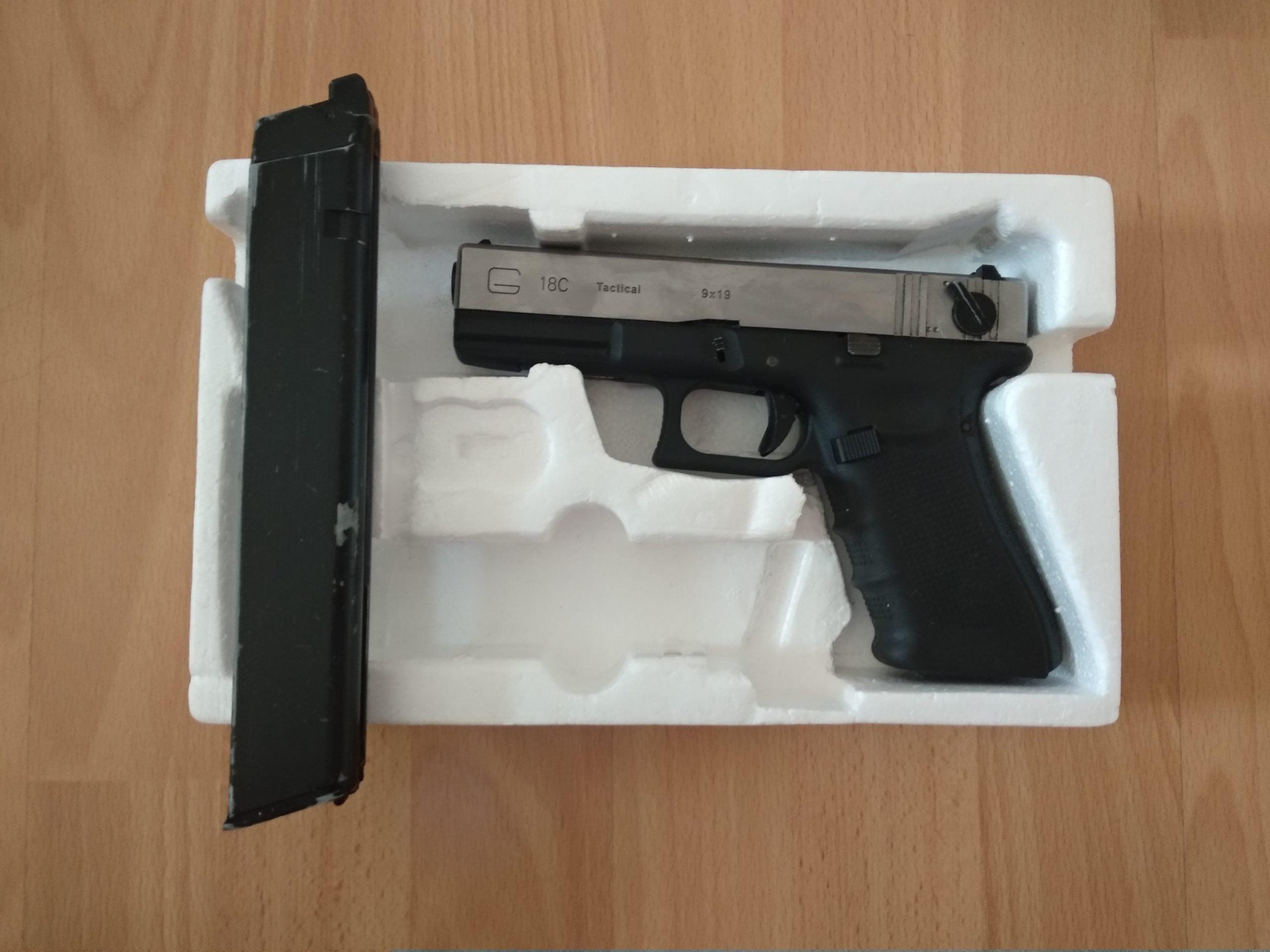 Réplique G36 AEG et Glock G18C Tactical