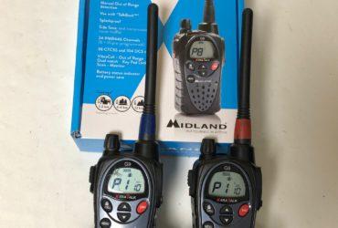 Talkie walkie Midland G9 plus Dual band