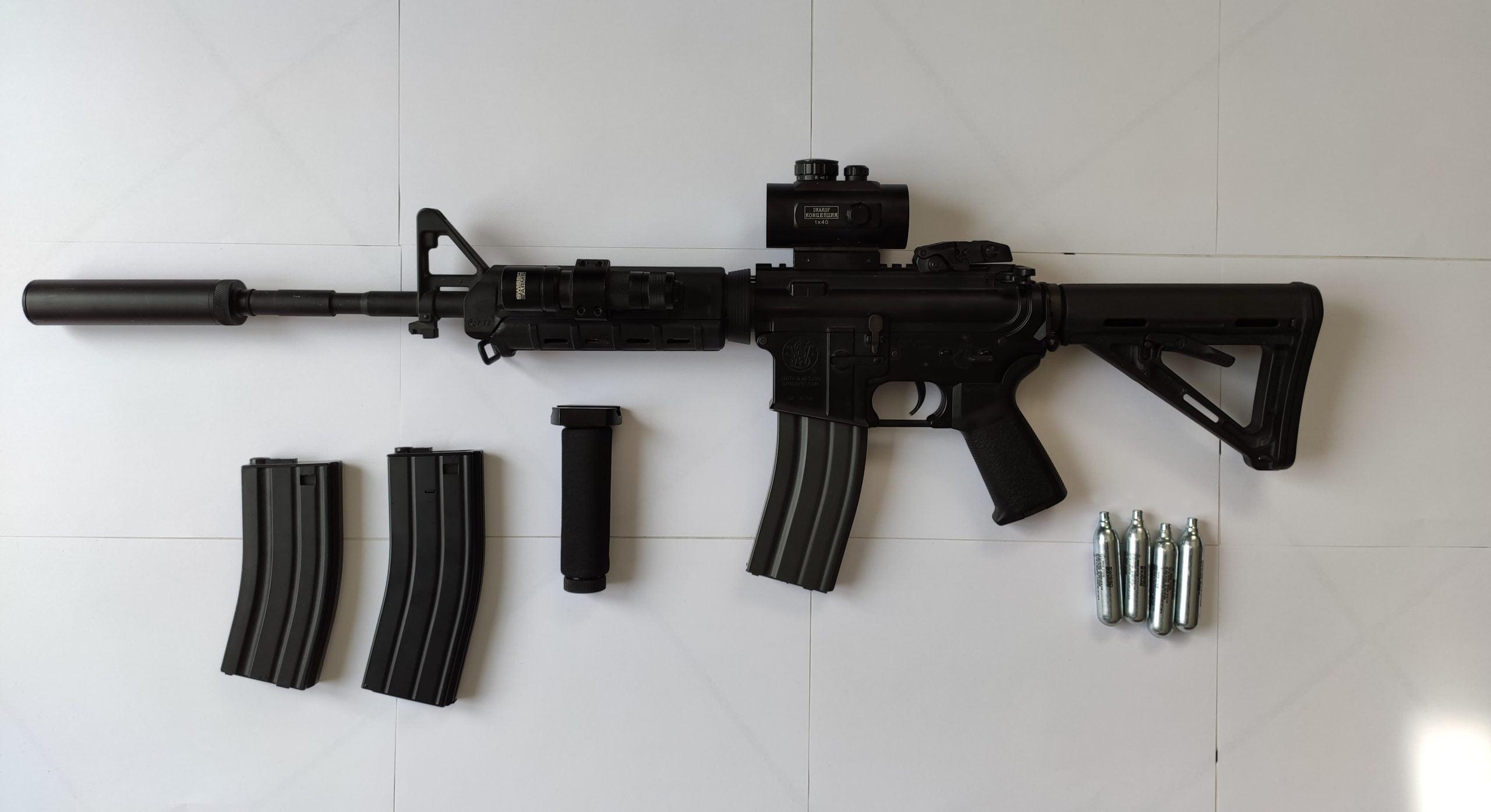 Smith & Wesson M&P 15 Kings Arms équipé MOEp