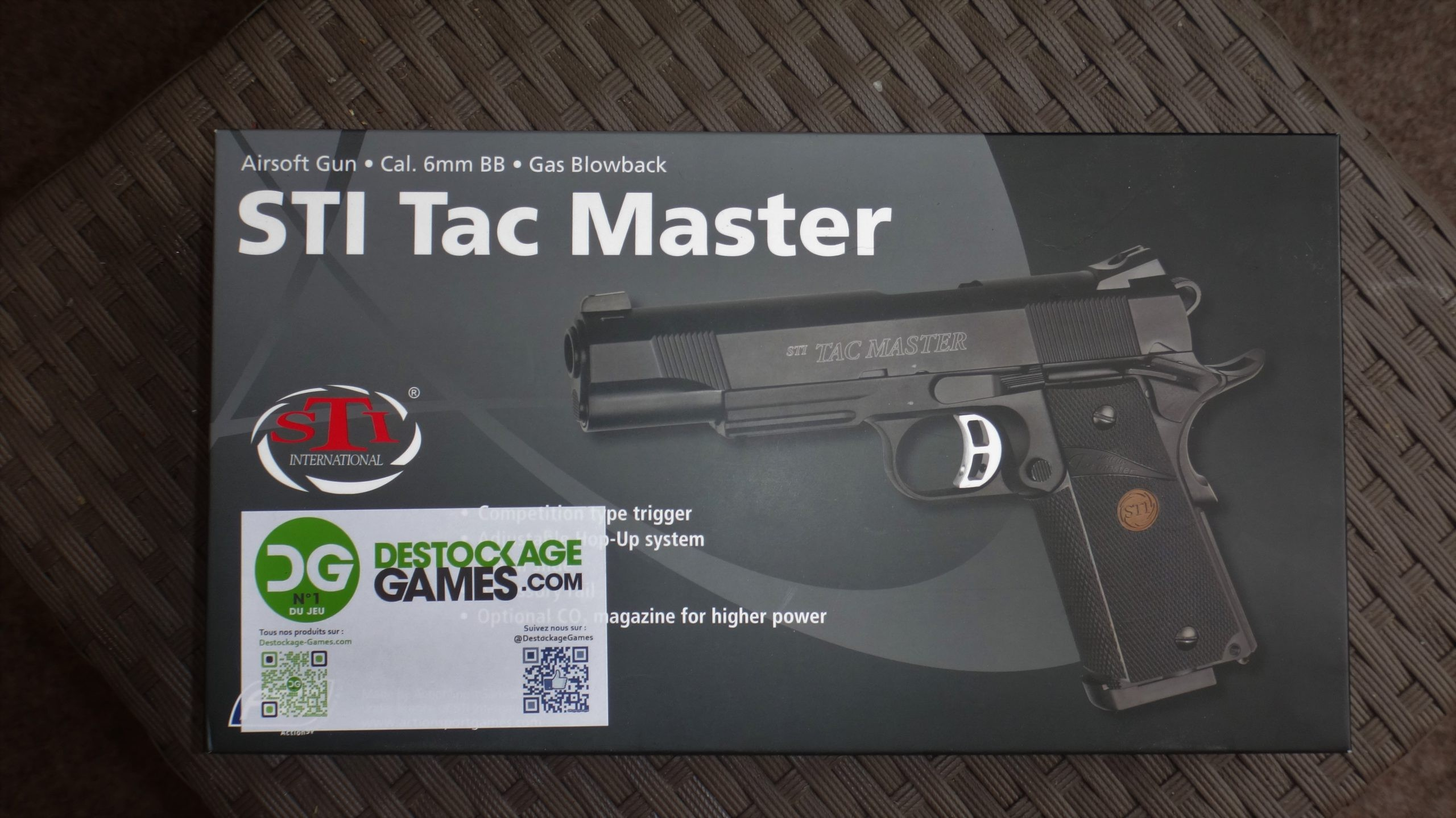 Colt 911 STI TAC Master ASG