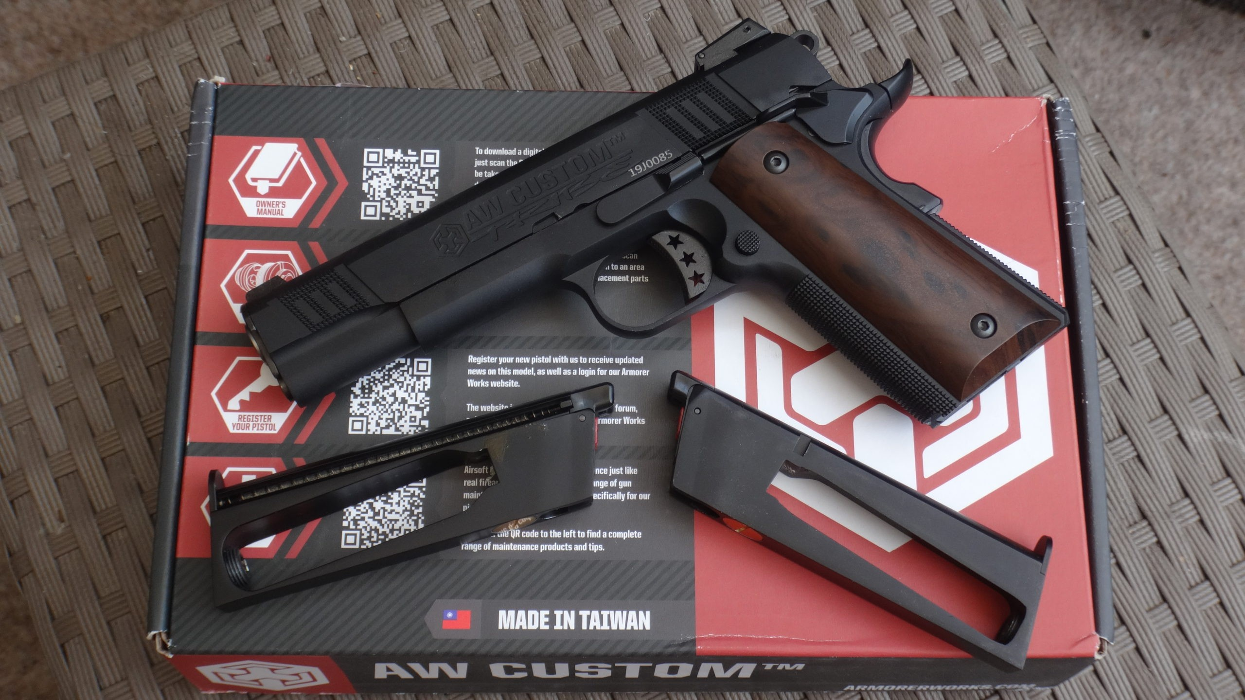 Colt 911 Tribe Black Armorer Works