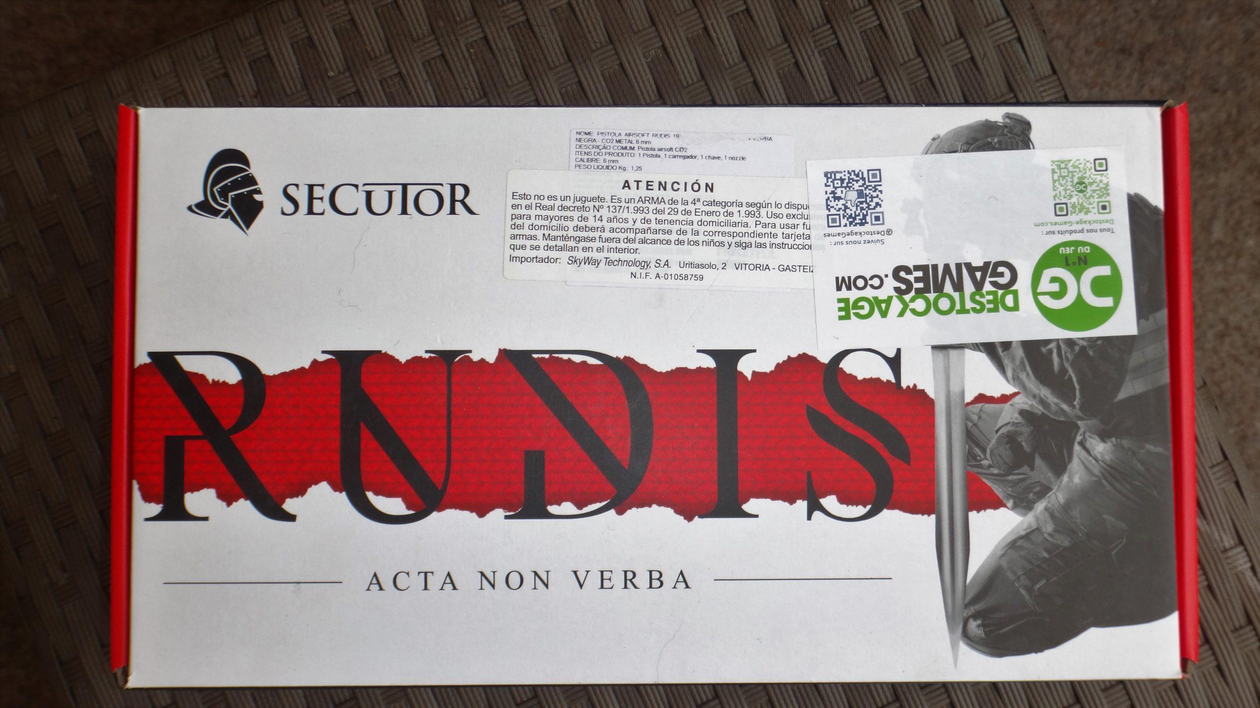 Colt 911  Acta Non Verba Rudis X Secutor