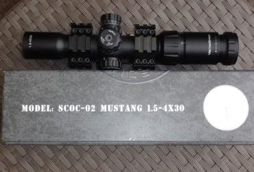 Vector Optics Mustang SCOC – 02 1.5 – 4 x 30