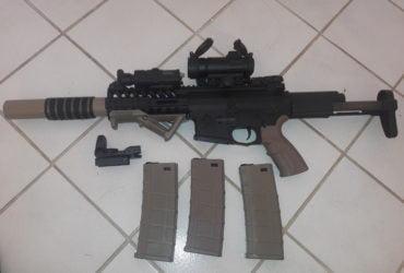 BO SHield M4 AEG Blowback