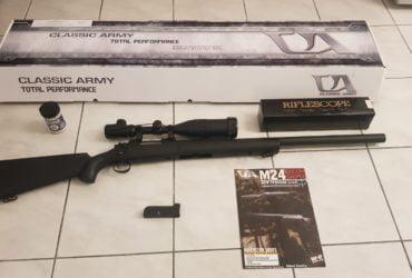 M 24 Sniper avec chargeur