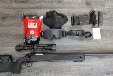 Well Sniper M40A5 Spring + équipement et billes