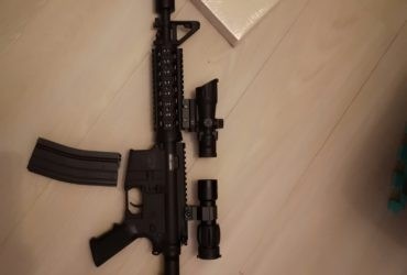 M4 BW15 Compact Cybergun licence Black Water