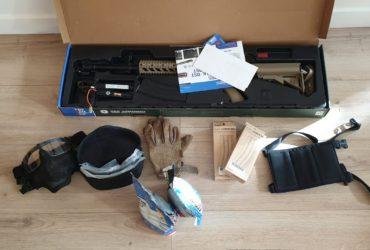 VEnds pack Airsoft M16 + tous les accessoires necessaires