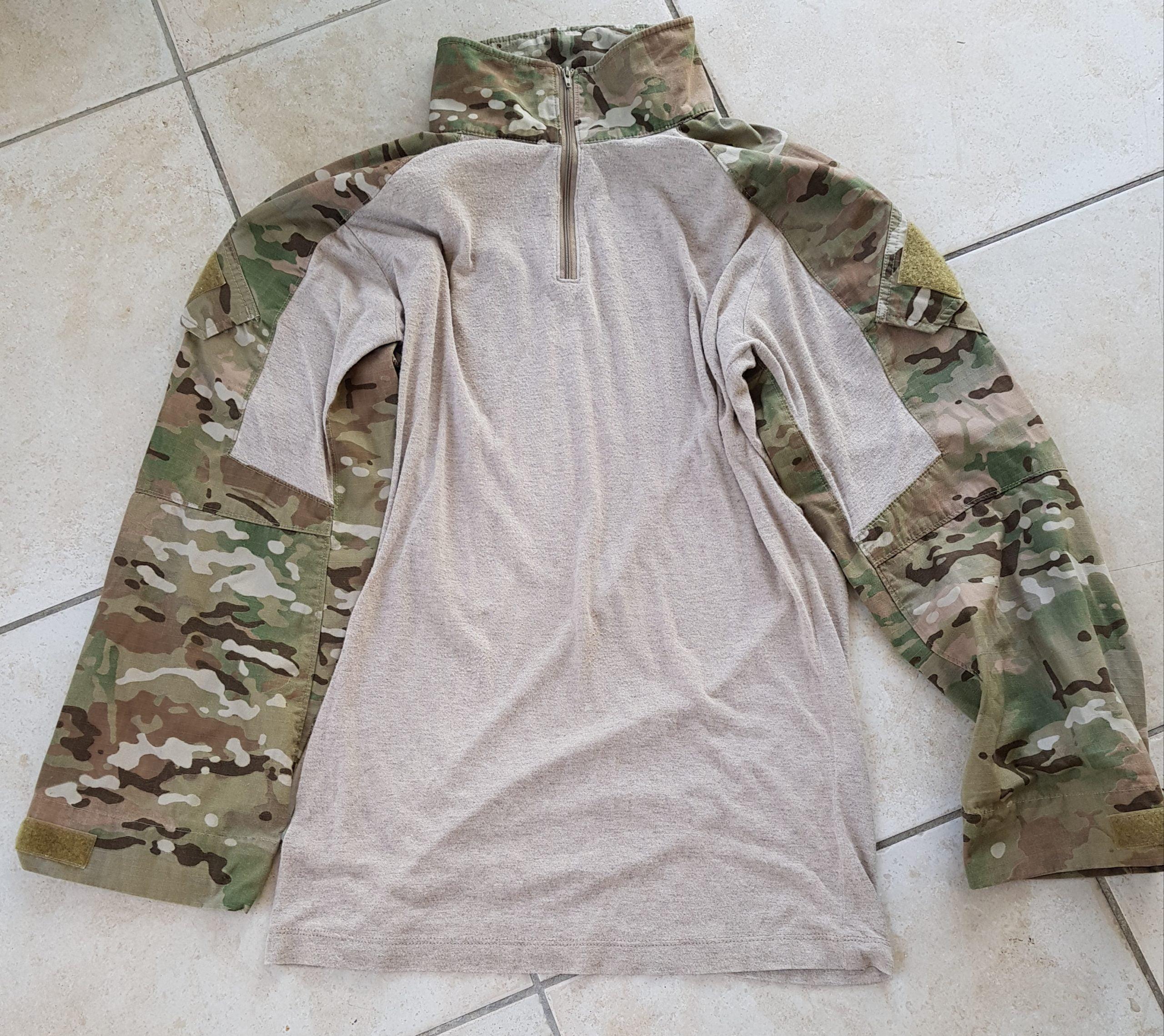 Combat shirt crue précision