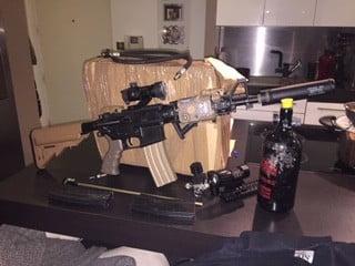 M4 blackwater HPA full équipée