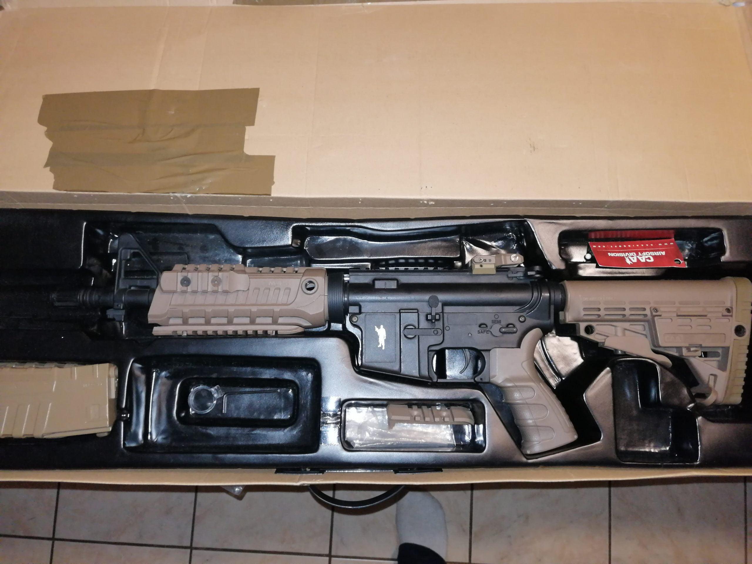 M4S1 Sporline CAA King Arms Tan
