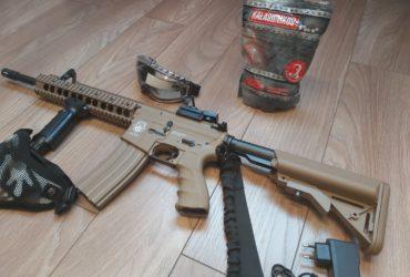 Réplique CM16 M4 Raider-L Tan G&G Armament