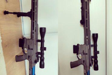 M4 Bamf Kinectic Cobablt G&G + accessoirs