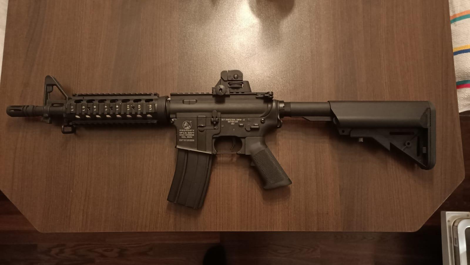 M4 CQB AEG Full Metal