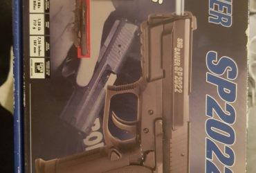 Vend Pistolet Sig Sauer 2022 full métal