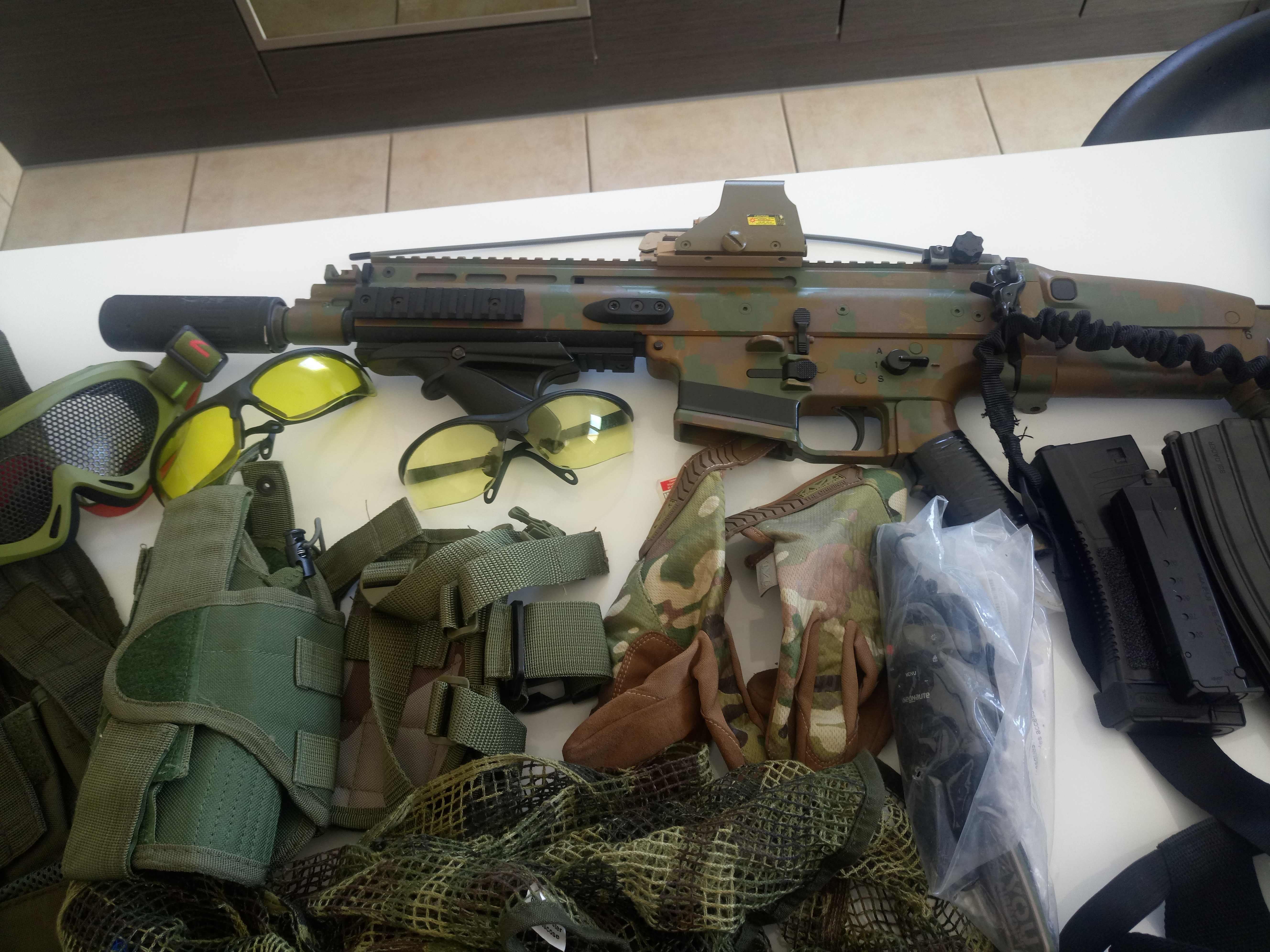Lot complet airsoft
