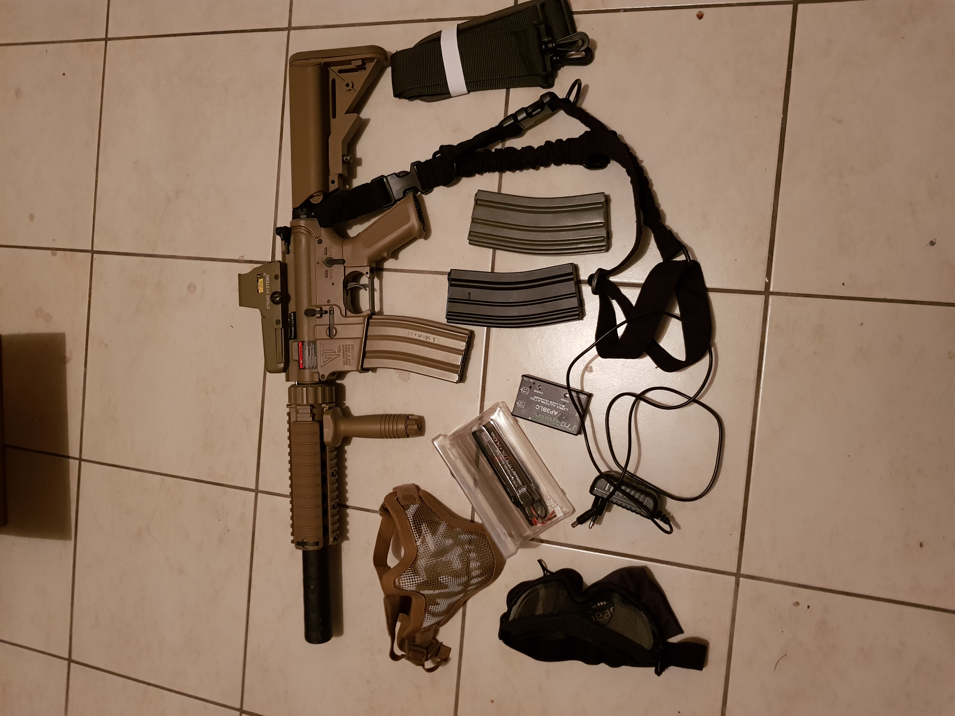Pack complet airsoft