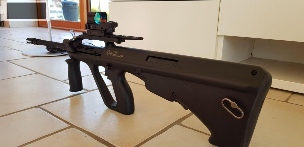 STEYR AUG A2 + Red dot + 4000 billes eco