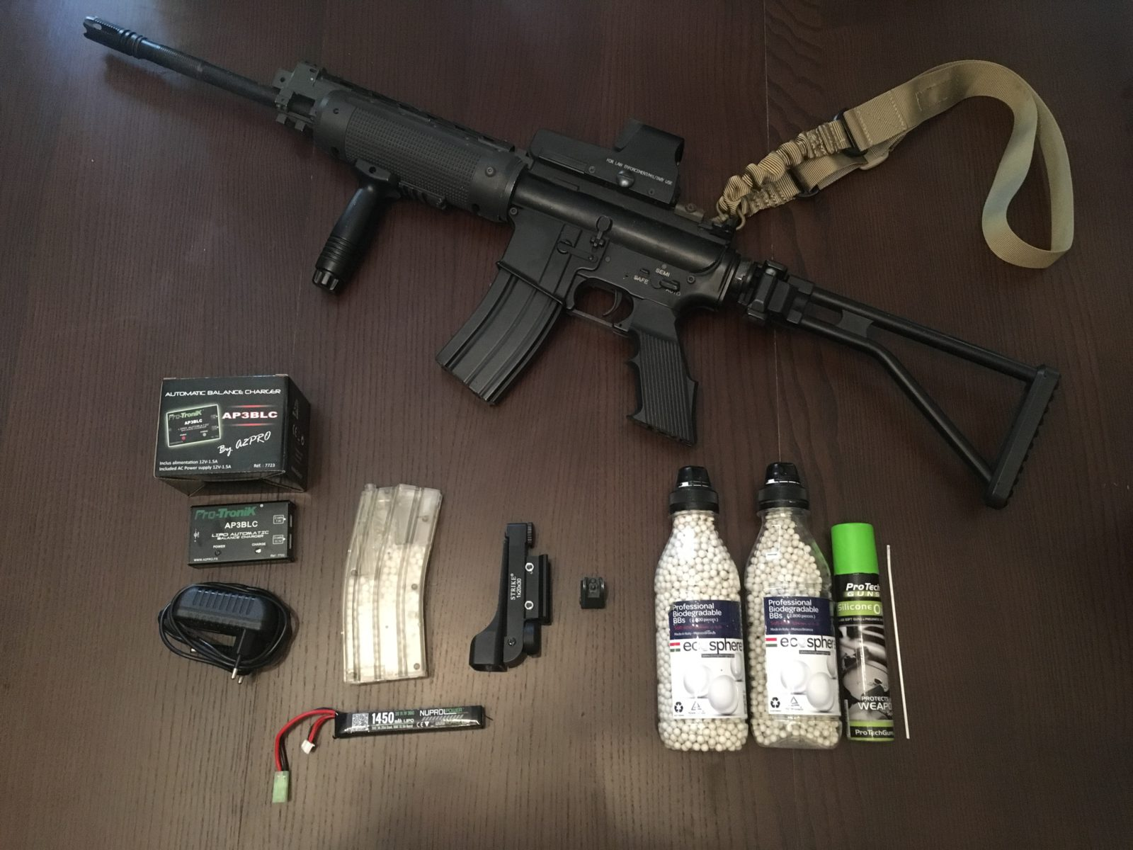 Pack M4A1 Airsoft